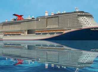 FLOAT OUT PER MARDI GRAS DI CARNIVAL CRUISE LINE.
